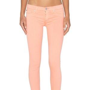 Hudson Krista super skinny cropped jeans. 28